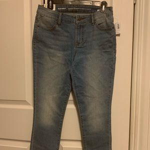 Old Navy ankle jeans super skinny mid rise.